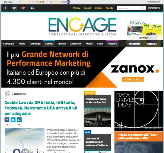 Cookie Law: da DMA Italia, IAB Italia, Fedoweb, Netcomm e UP arriva il kit per adeguarsi